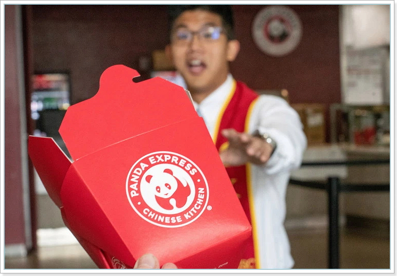 Chow Mein At Panda Express
